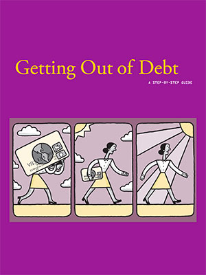Cover of Getting Out of Debt booklet