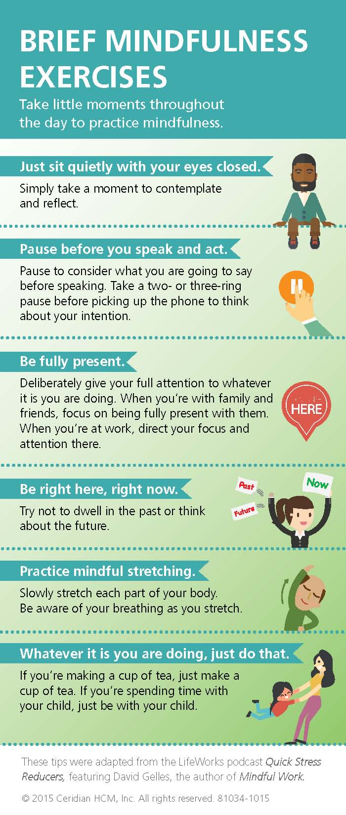 Brief Mindfulness Exercises